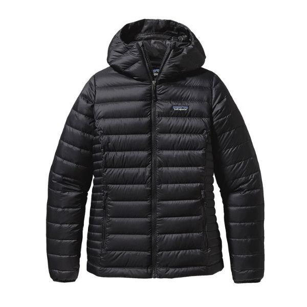 Patagonia Women's Down Sweater Hooded Black